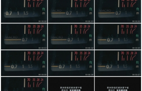 高清实拍视频素材丨特写相机镜头对焦