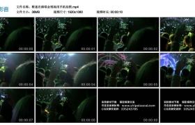 高清实拍视频丨歌迷在演唱会现场用手机拍照