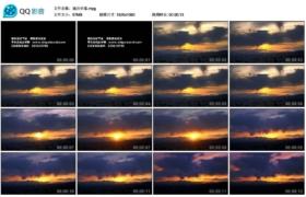 [高清实拍素材]城市日落