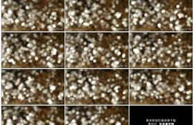 高清实拍视频素材丨溪水流动反射着模糊的光斑