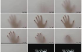 高清实拍视频素材丨模糊的视线看模糊的手影