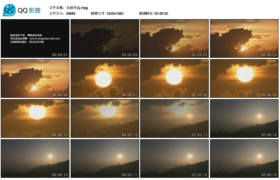 [高清实拍素材]太阳升起