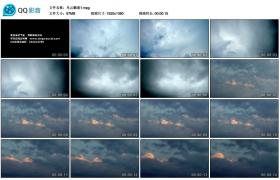[高清实拍素材]乌云翻滚1