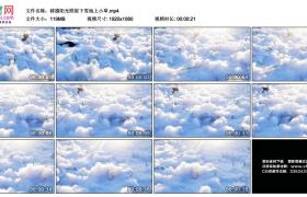 高清实拍视频丨移摄阳光照射下雪地上小草