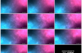高清动态视频素材丨多彩的运动粒子背景