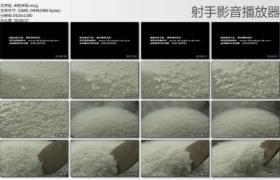 【高清实拍素材】米粒米饭