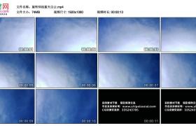 高清实拍视频丨旋转仰拍蓝天白云