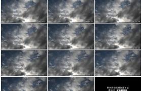 4K实拍视频素材丨天空中乌云流动