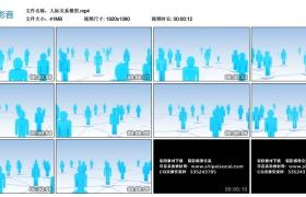 高清动态视频丨人际关系模型