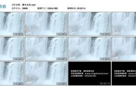 【高清实拍素材】瀑布水流