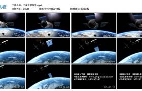 【高清实拍素材】卫星发射信号