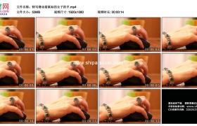 高清实拍视频素材丨特写滑动着鼠标的女子的手