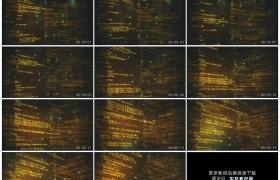 高清动态视频素材丨滚动的程序网站代码科技视频
