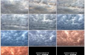 高清实拍视频素材丨厚厚的云层在天空上流动
