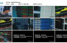 【高清实拍素材】金融-股票-股市-股指