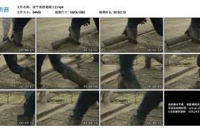 高清实拍视频素材丨抹平现浇混凝土2