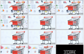 4K实拍视频素材丨电商购物网站购物车网购