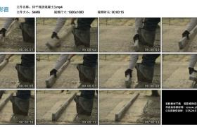 高清实拍视频素材丨抹平现浇混凝土3