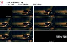 高清实拍视频丨复古留声机播放音乐