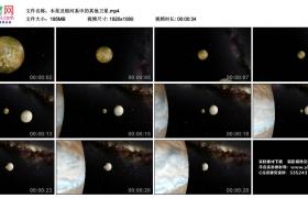 高清实拍视频丨木星及银河系中的其他卫星
