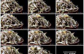 高清实拍视频素材丨特写旋转着的干茶叶