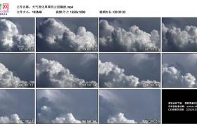 高清实拍视频素材丨天气变化厚厚的云层翻滚延时摄影