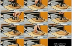 高清实拍视频素材丨特写女子将做好的寿司摆盘