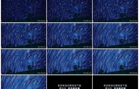 4K实拍视频素材丨夜晚天空中的星轨