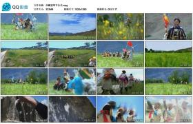 [高清实拍素材]西藏望果节仪式
