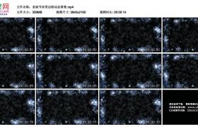 4K动态视频素材丨圣诞节冰雪边框动态背景
