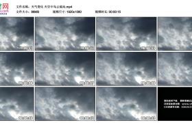 高清实拍视频丨天气变化 天空中乌云流动延时摄影