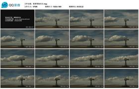 [高清实拍素材]孤零零的风车