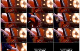 4K实拍视频素材丨特写女提琴手拉大提琴